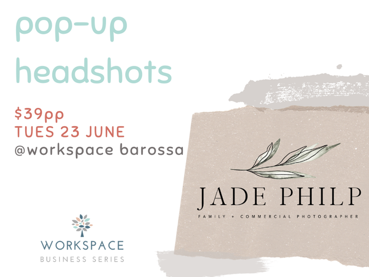 Pop-up Headshots (June)